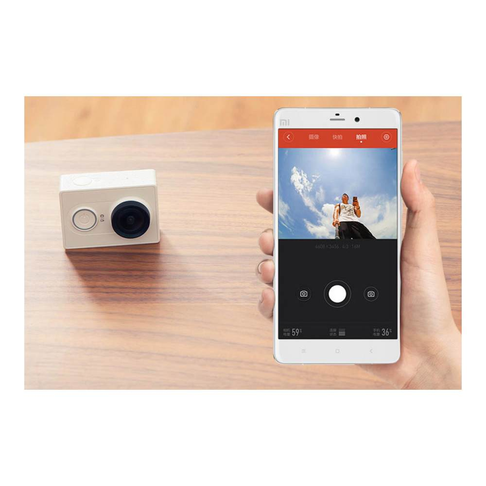Экшн-камера Xiaomi Yi Action Camera Travel Edition White