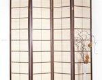 Деревянная ширма в японском стиле 10654-4N