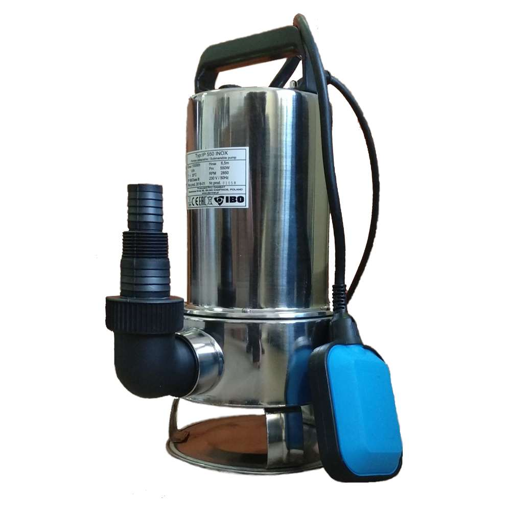 Фекальный насос для откачки канализации  погружные модели